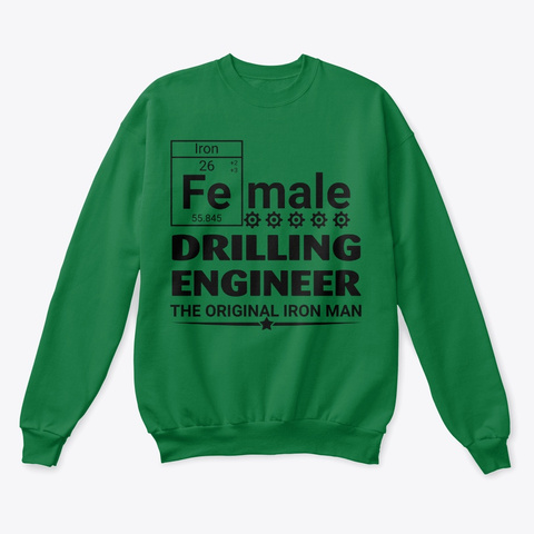 Female Drilling Engineer Hoodie Tshirt