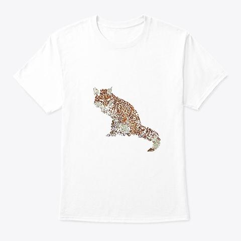 Tiger Tee Shirt Tshirt T Shirt White T-Shirt Front