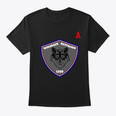 Wolf Pack 5280 Hockey 91 Morneau Black T-Shirt Front
