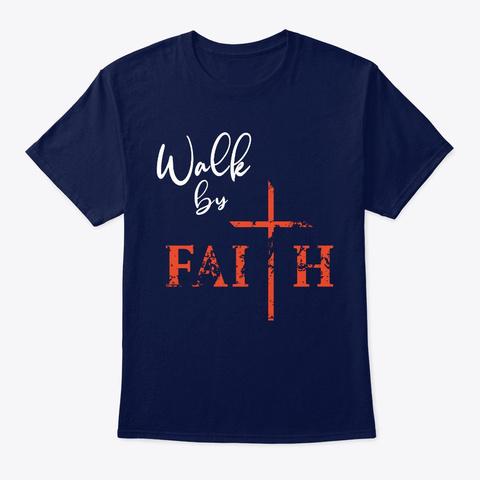 Faith Navy T-Shirt Front
