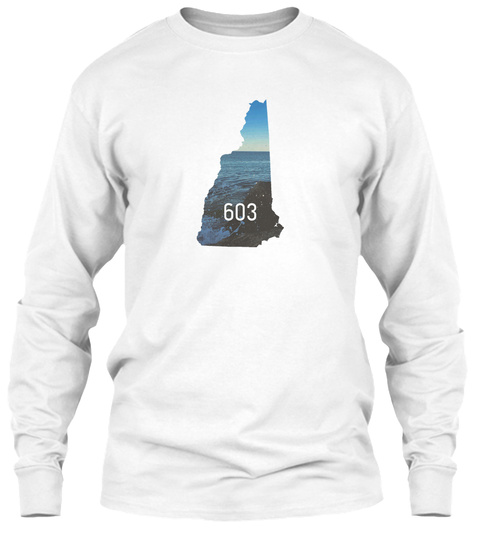 603 White T-Shirt Front