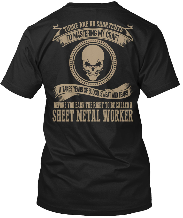 [2 Hours Left]sheet Metal Worker T-shirt Unisex Tshirt