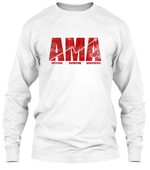 Ama American Marketing Association White T-Shirt Front