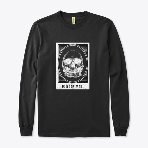 Buy Wicked Soul Black T-Shirt Front