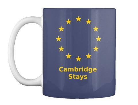 Cambridge Stays Dark Navy Mug Front