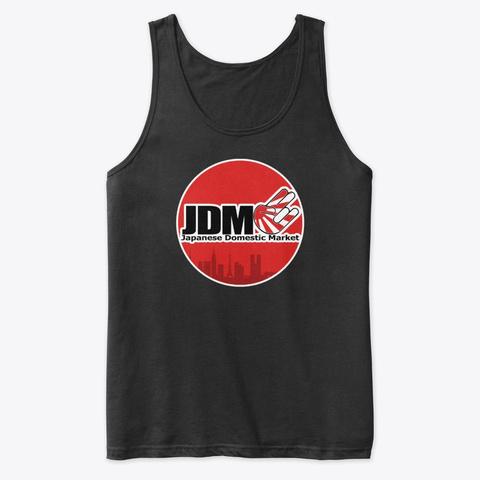 Jdm Skyline Black T-Shirt Front