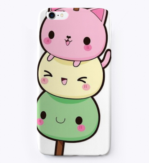 Mochi Kittens Phone Case White T-Shirt Front