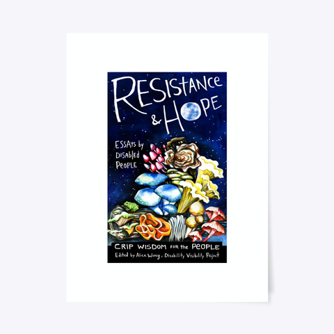 Resistance And Hope Poster Standard T-Shirt Front