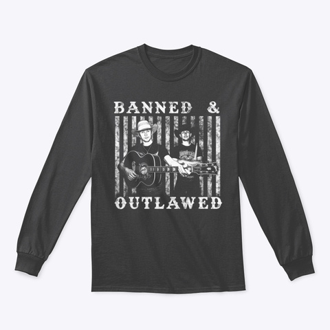 Banned & Outlawed Shirts  Dark Heather T-Shirt Front
