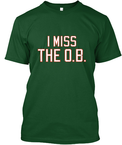 I Miss The Ob Deep Forest T-Shirt Front