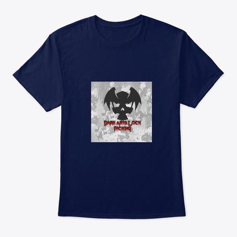 Dalp Navy T-Shirt Front