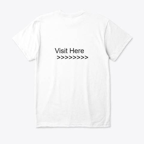 Choices Story You Play Free Key Diamonds White T-Shirt Back