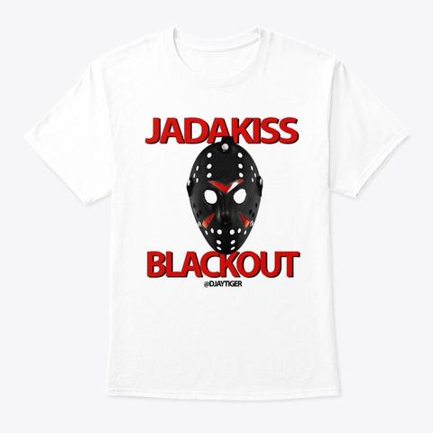 Blackout White T-Shirt Front