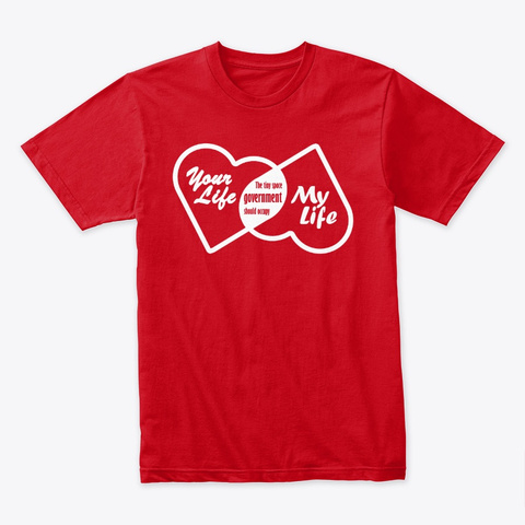 Tiny Space Red T-Shirt Front