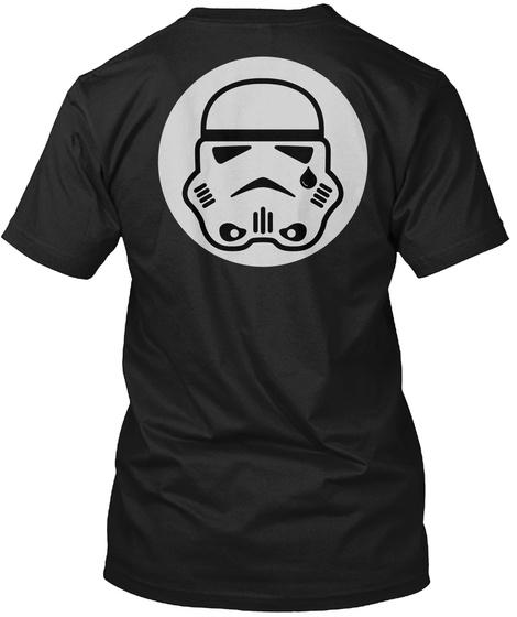 Never Forget Black T-Shirt Back