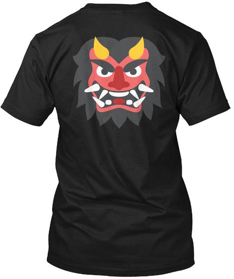 Horror Black T-Shirt Back