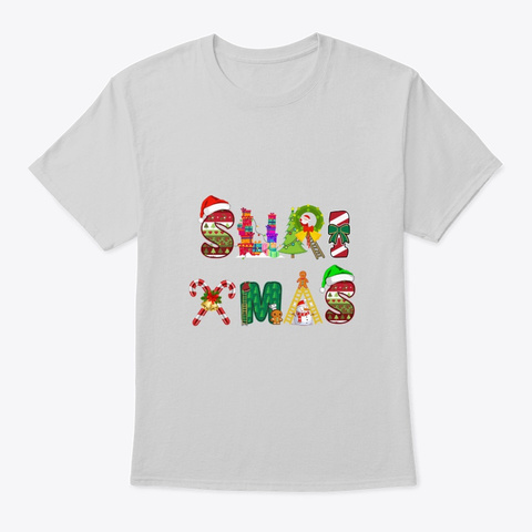 Suri Xmas Light Steel T-Shirt Front