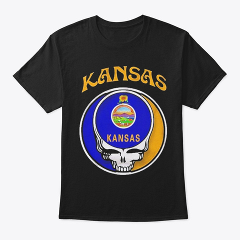 Kansas State Amazing Shirt Black T-Shirt Front