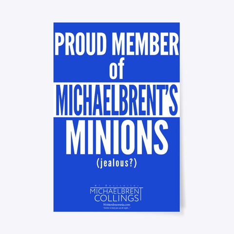 Proud Member Of Michaelbrent's Minions Royal Blue T-Shirt Front