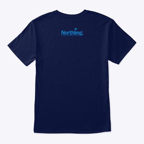 Northling™ 45th Parallel Minnesota Navy T-Shirt Back