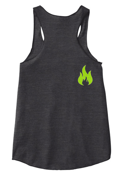 Sou Lift Fitness Simple T Eco Black Women's Tank Top Back