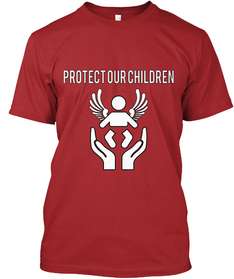 Protect   Our   Children Red T-Shirt Front