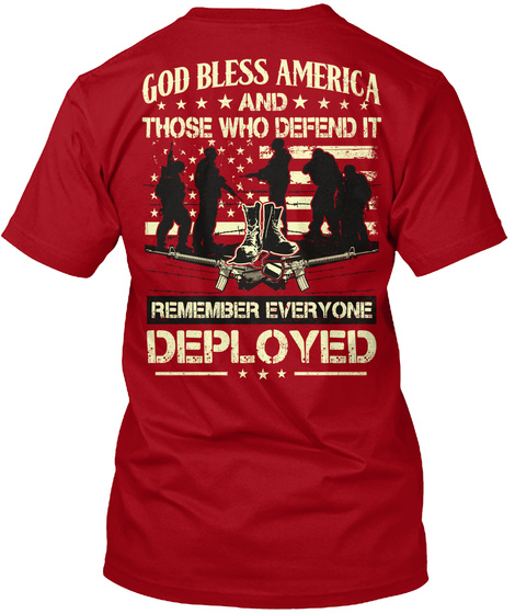Red friday support our troops red friday god bless for Red support our troops shirts