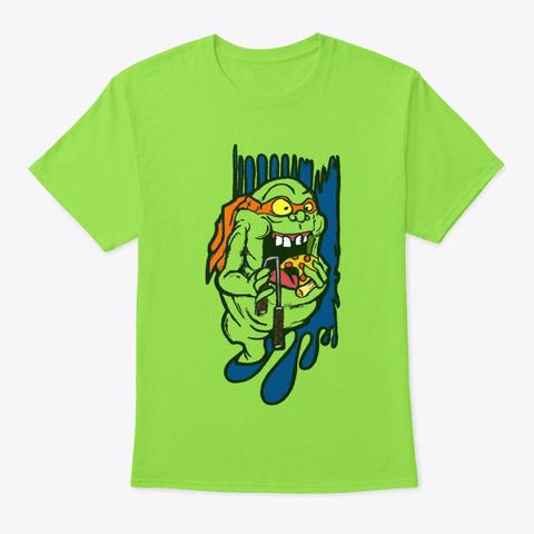 Slimer Angelo Lime T-Shirt Front