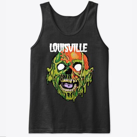 Louisville Tarman Black T-Shirt Front