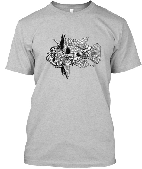 More Official Pecktec Shirts Light Heather Grey  T-Shirt Front