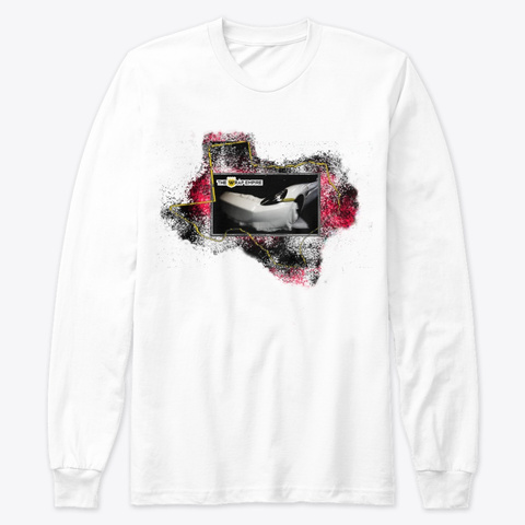 Htx 386 Classic Long Sleeve T White T-Shirt Front