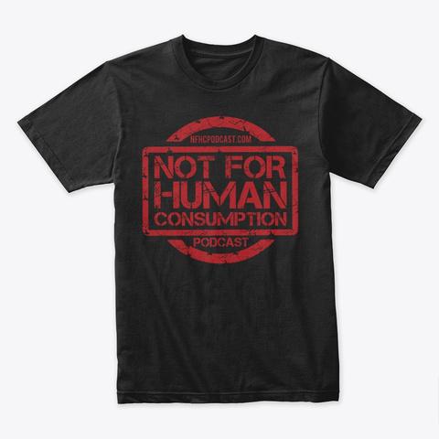 Nfhc Standard Red Black T-Shirt Front