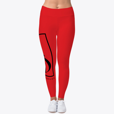 We Are Bermuda Leggings Red T-Shirt Front