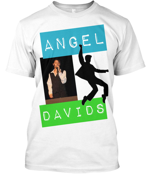 Angel Davids White T-Shirt Front