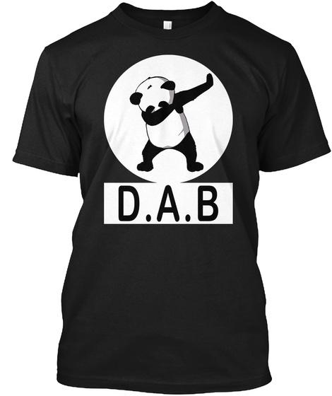 D.A.B Black T-Shirt Front