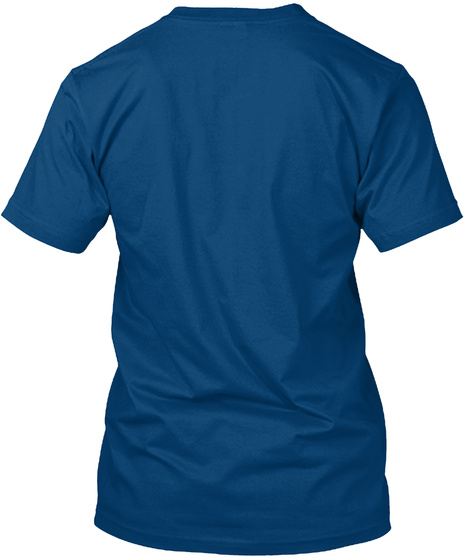 Camera Logo Cool Blue T-Shirt Back