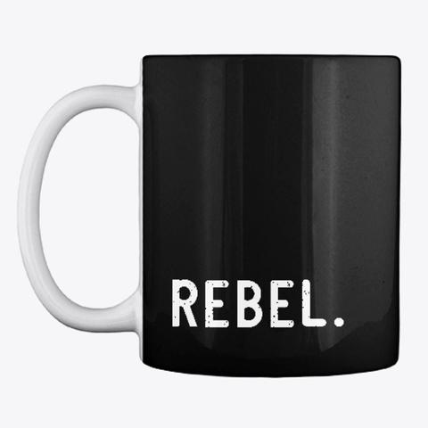 Rebel.Toys Mug Black T-Shirt Front