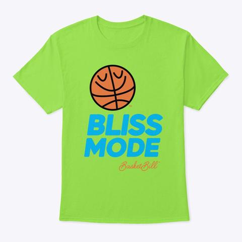 Basket Bill™ Bliss Mode Lime T-Shirt Front