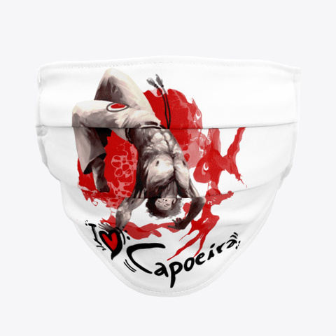 I Love Capoeira Covid19 Face Mask Standard T-Shirt Front