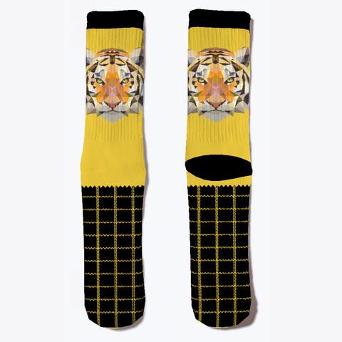 Tiger Socks Yellow T-Shirt Front