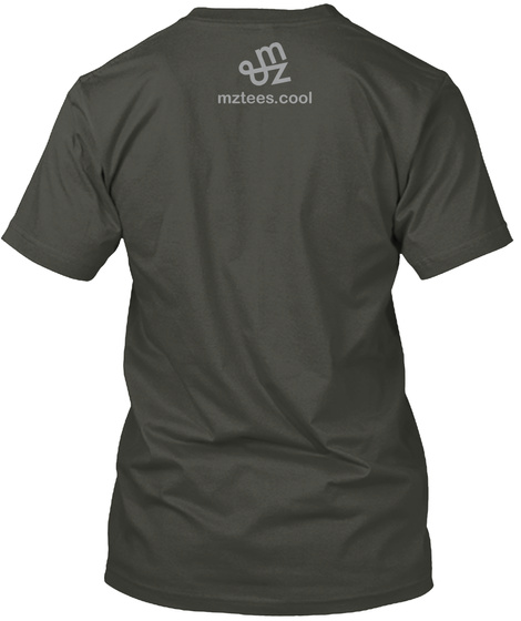 War And Peace Smoke Gray T-Shirt Back