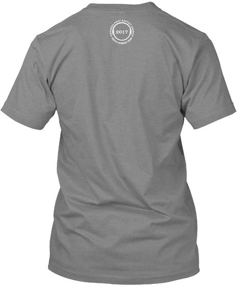 2017 Premium Heather T-Shirt Back