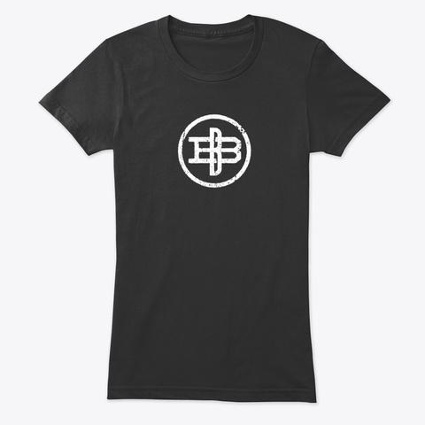 Edgy, Vintage, Branding Iron  Podcasting Vintage Black T-Shirt Front