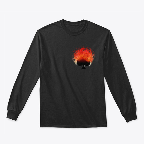 Ace Of Fire Black Kaos Front