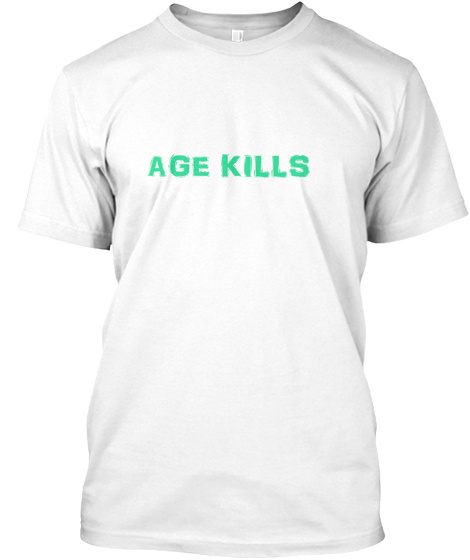 Death By Numbers White T-Shirt Front