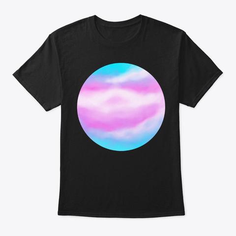 Transgender Skylines Black T-Shirt Front