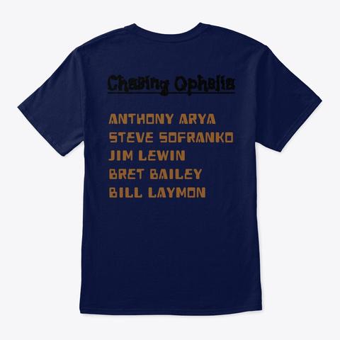 T Shirt: Chasing Ophelia Navy T-Shirt Back