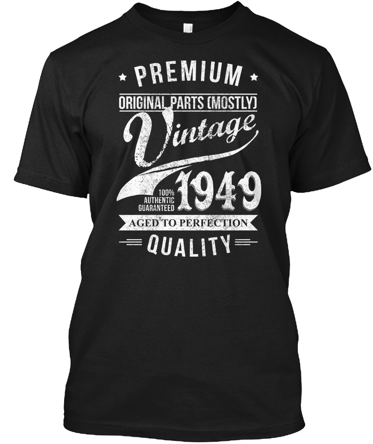 Vintage 1949. Birthday Gift For 67 Years old. Unisex Tshirt
