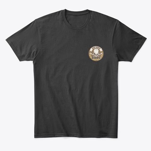 Nak Squad And Nak Elite   Tees Black T-Shirt Front