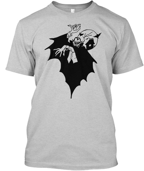 Vampire Light Steel T-Shirt Front